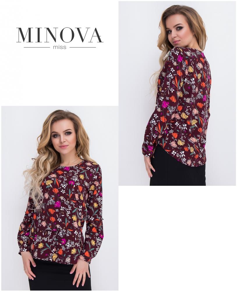 Блуза №430-бордо