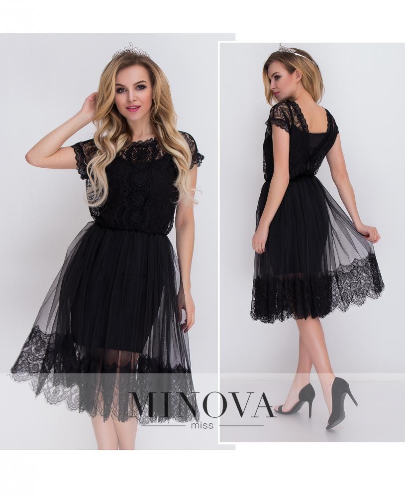 Платье №7067-черный