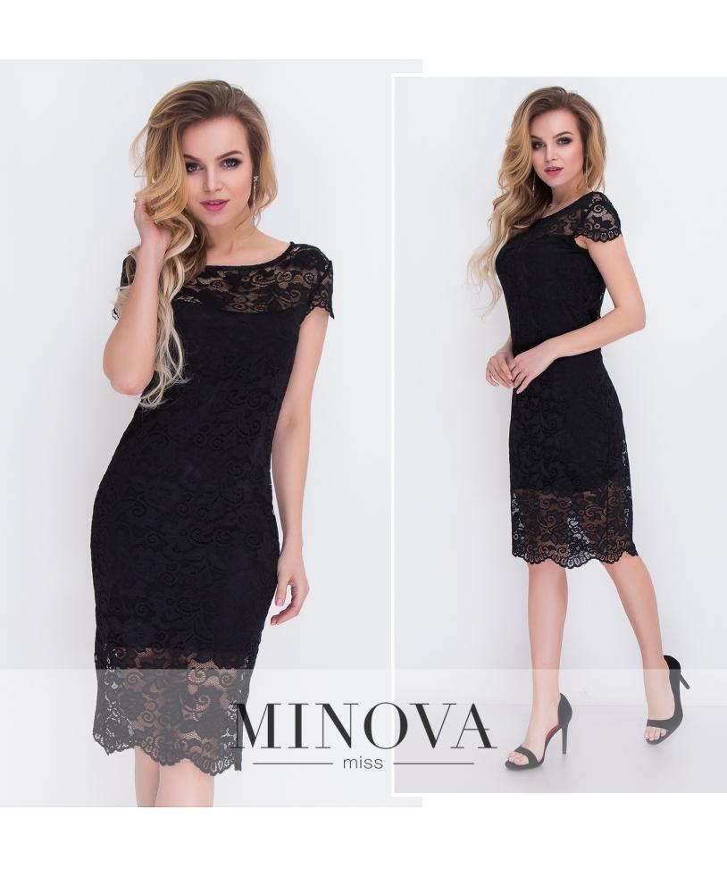 Платье №7069-черный