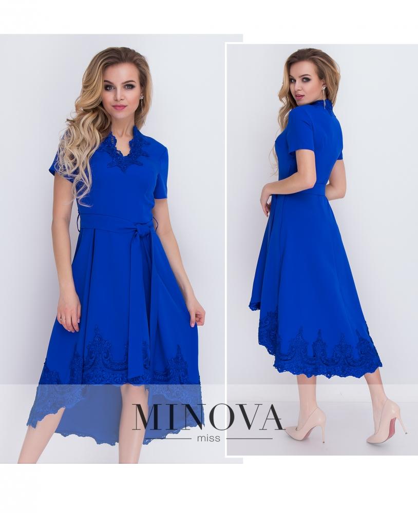 Платье №8575-электрик