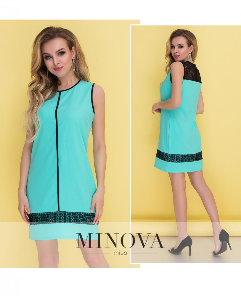 Платье №096-мята