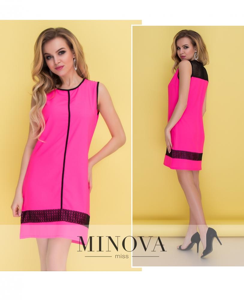 Платье №096-малина
