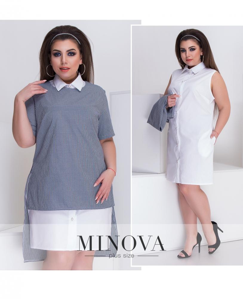 Платье №099-белый