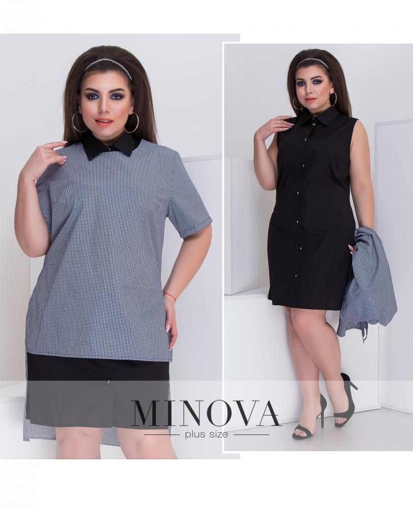 Платье №099-черный