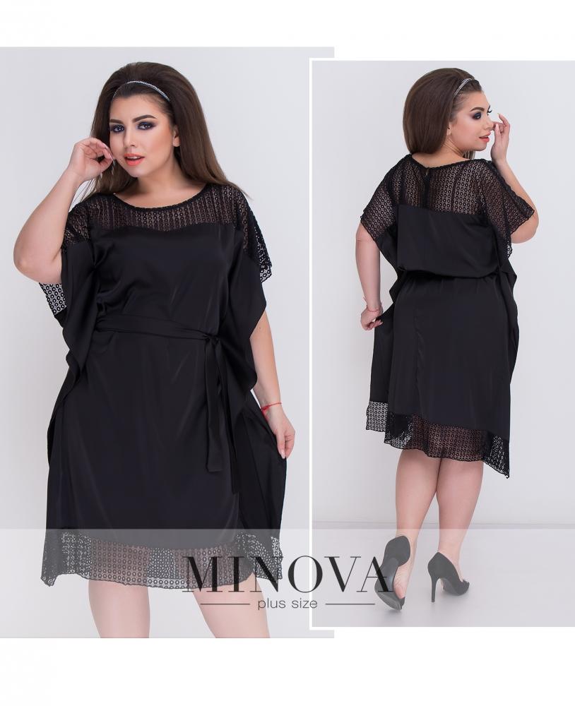 Платье №346-черный