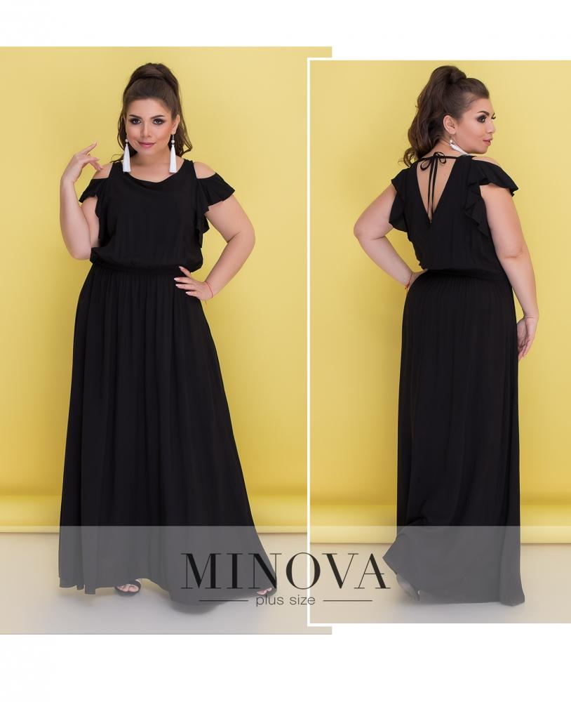 Платье №4104-черный