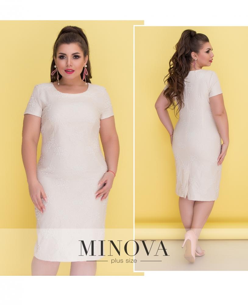 Платье №404-молочный