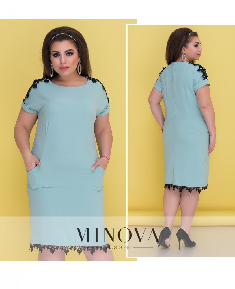 Платье №050-шалфей