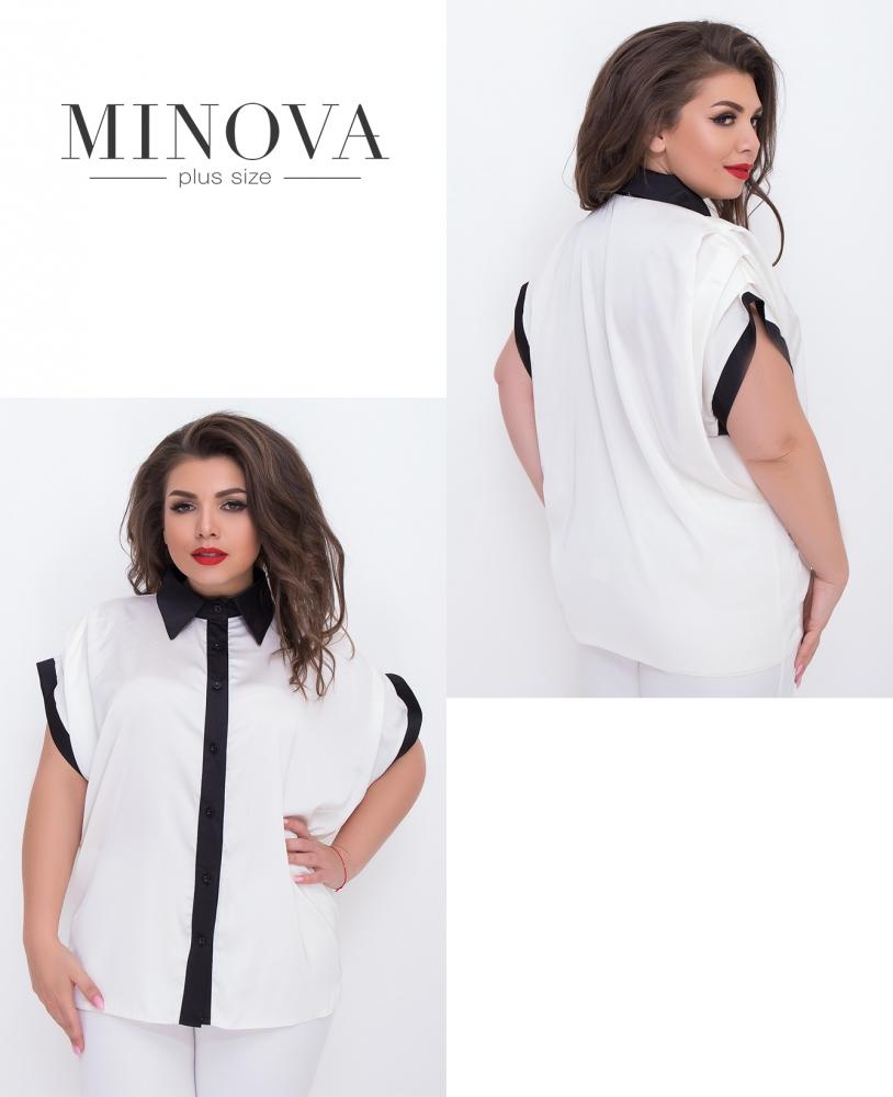 Блуза №3066.16-белый