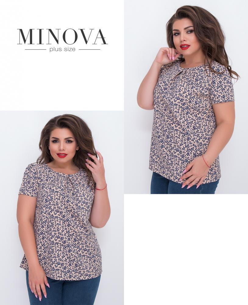 Блуза №3065.12-беж (sale)