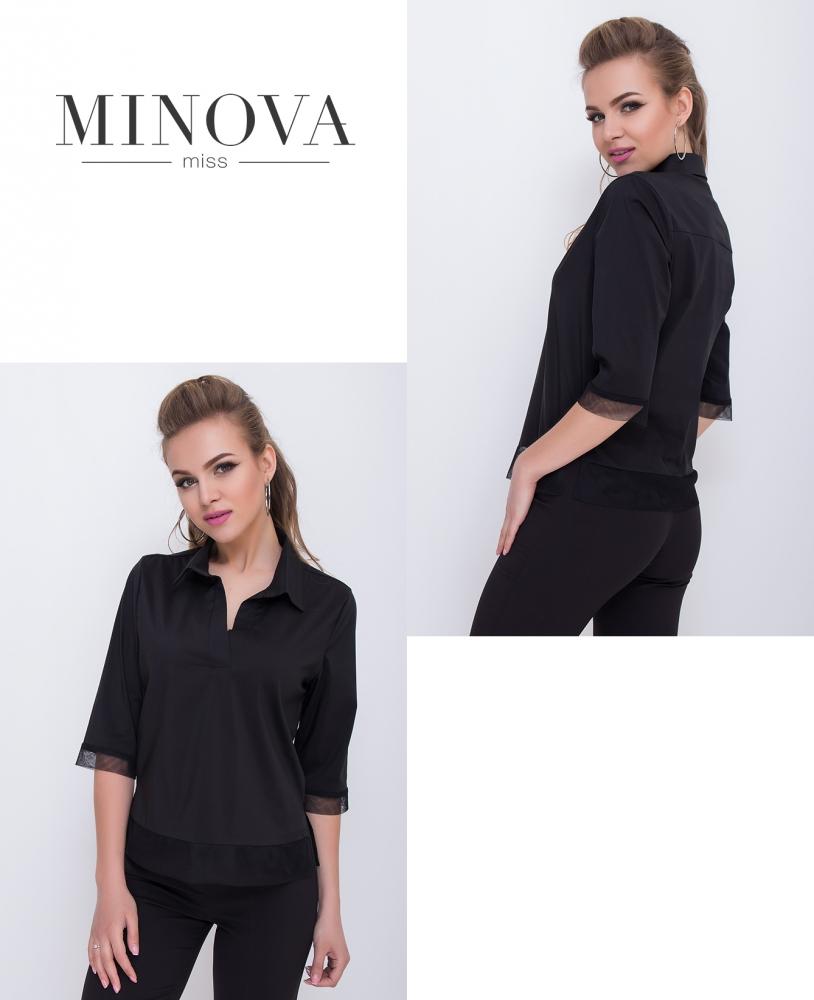 Блуза №1097-черный