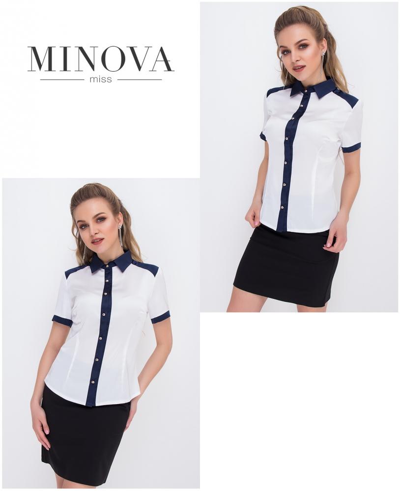 Блуза №1051-белый (sale)