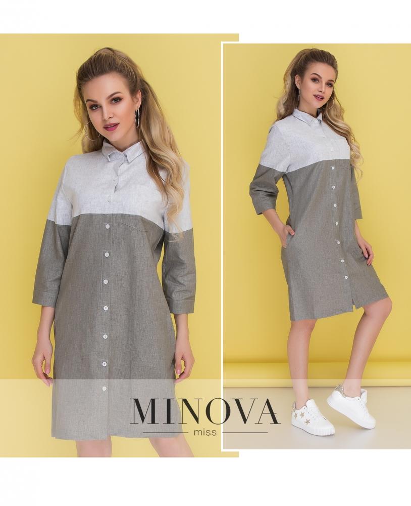 Платье №1038-хаки (sale)