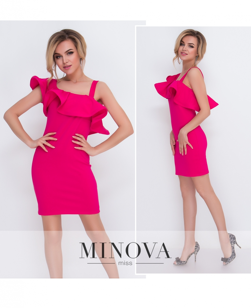 Платье №5094.15-фуксия