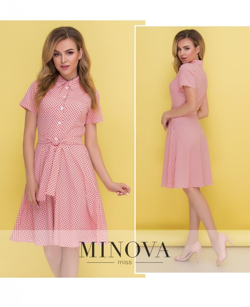 Платье №444-персик