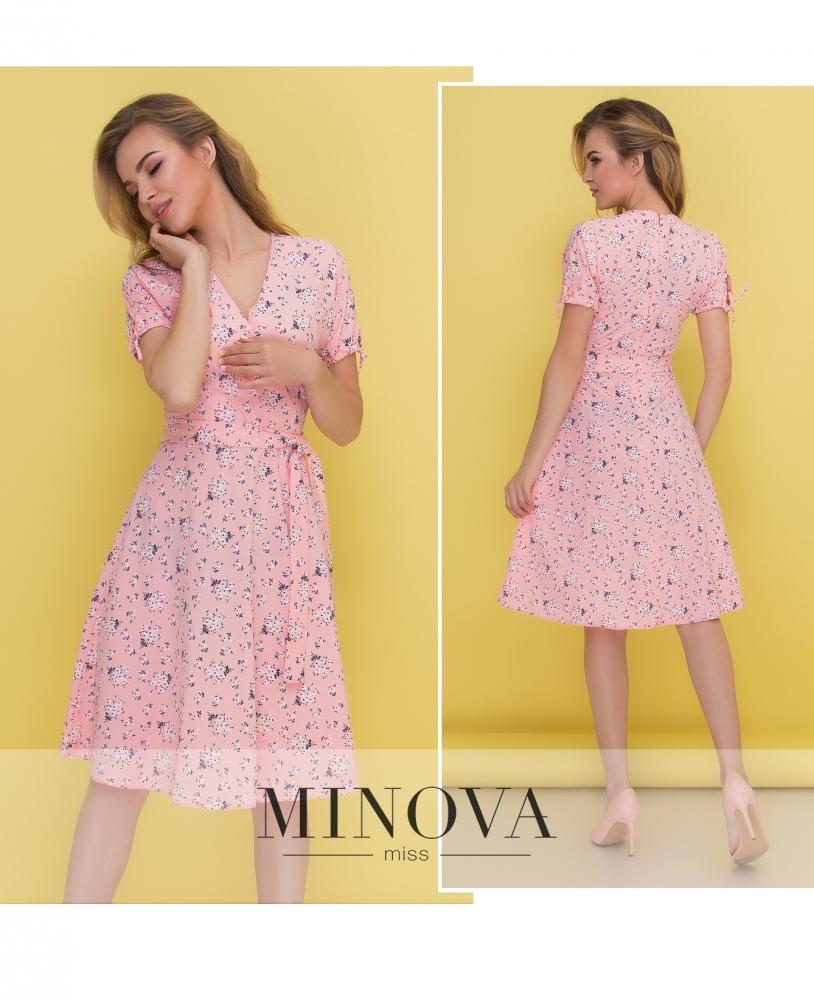 Платье №438-персик