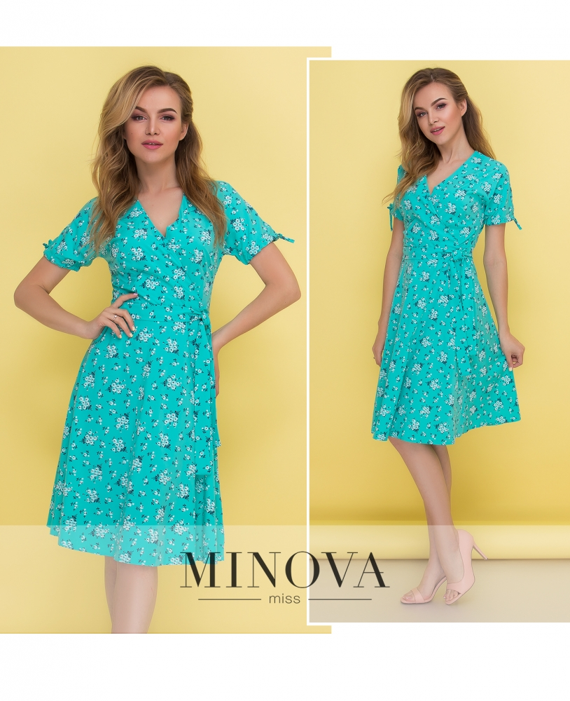 Платье №438-мята (sale)