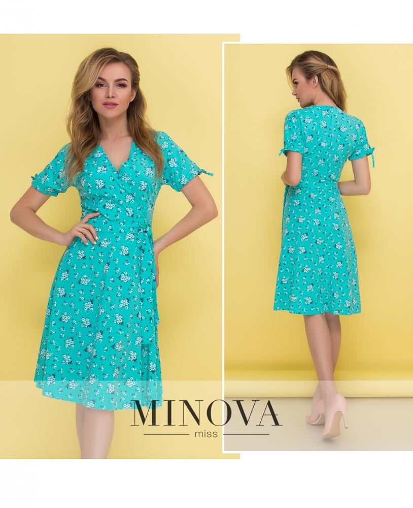 Платье №438-мята