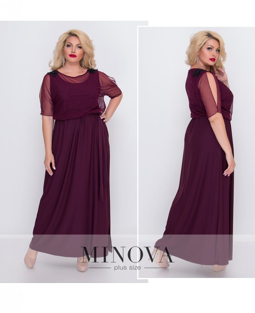 Платье №485-марсала