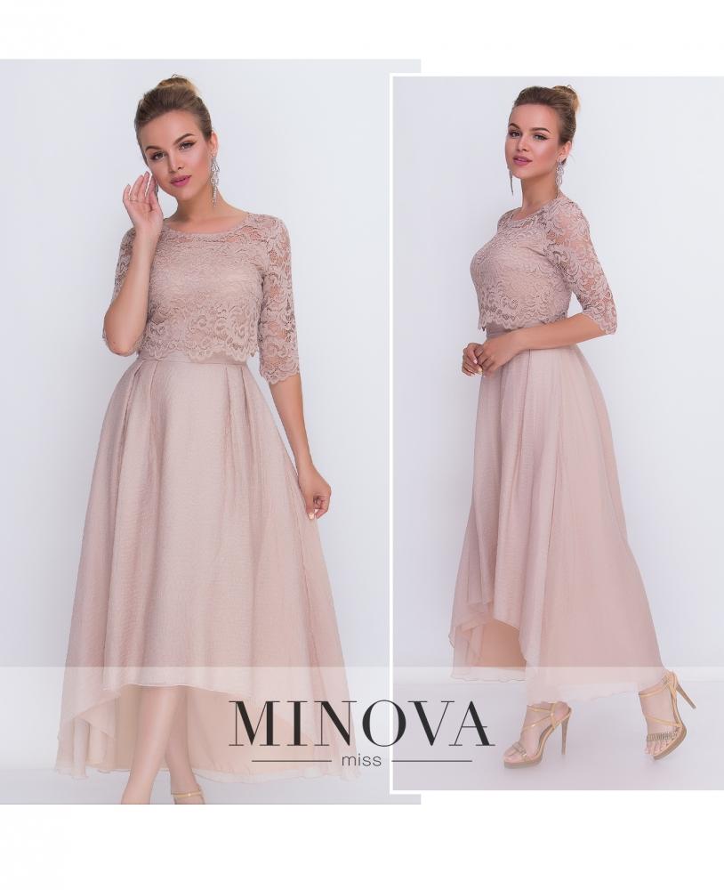Платье №2104-беж