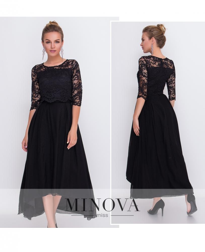 Платье №2104-черный
