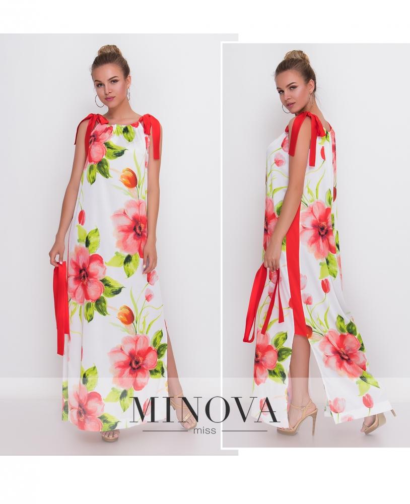Платье №1400-молочный