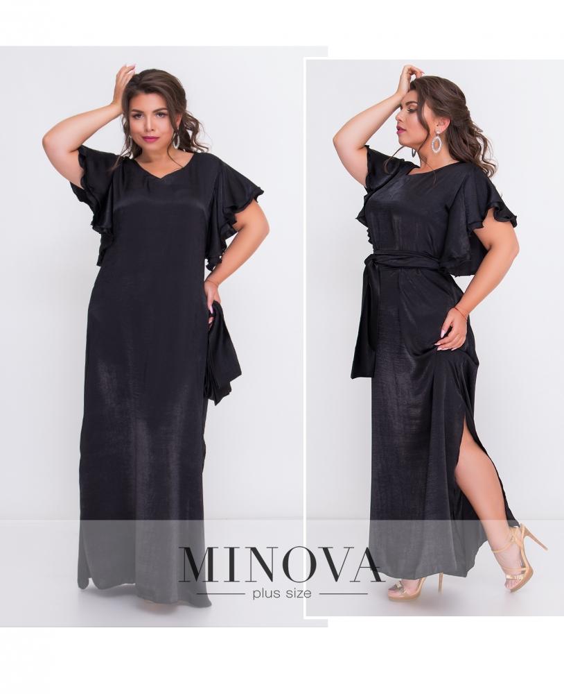 Платье №1405-черный