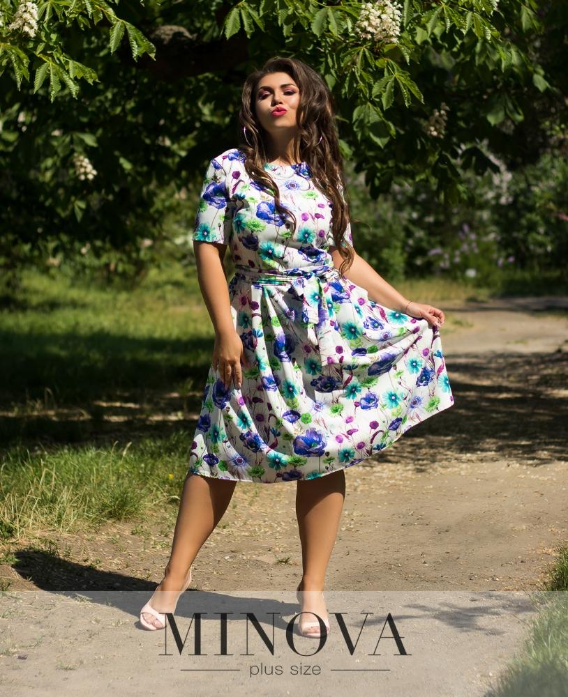 Платье №901-молочный