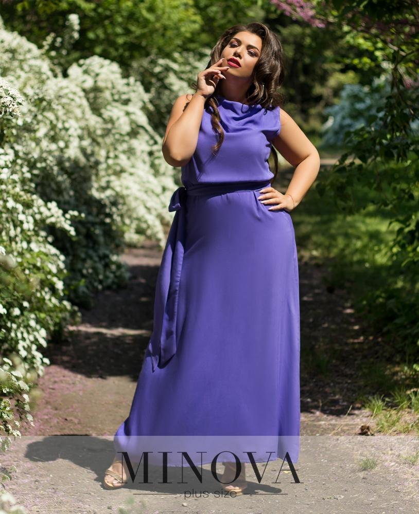 Платье №5098.14-фиолетовый
