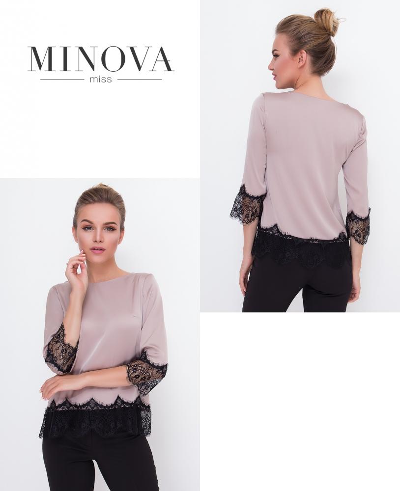 Блуза №1056-беж