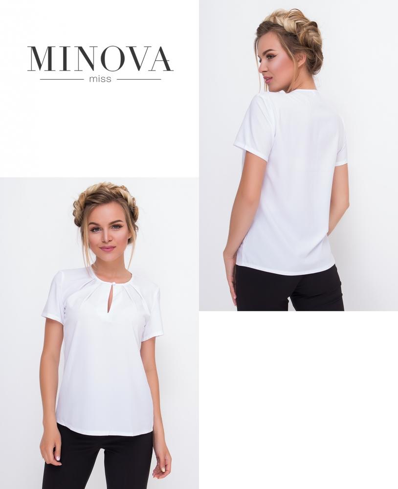 Блуза №447-белый