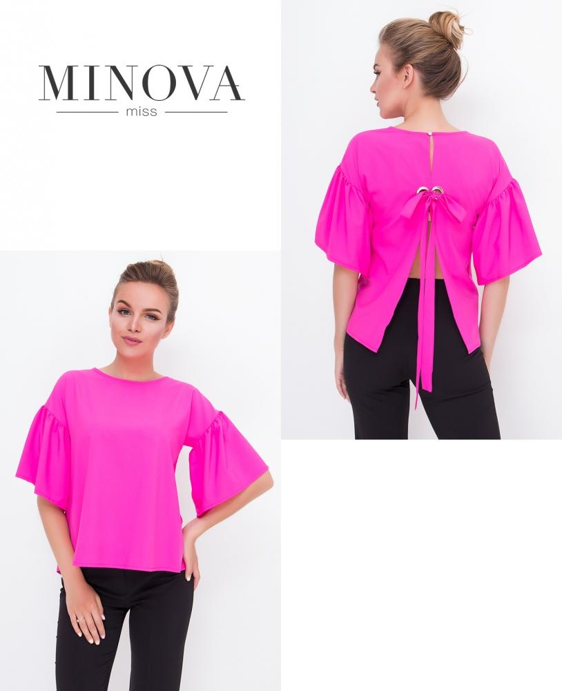 Блуза №446-розовый