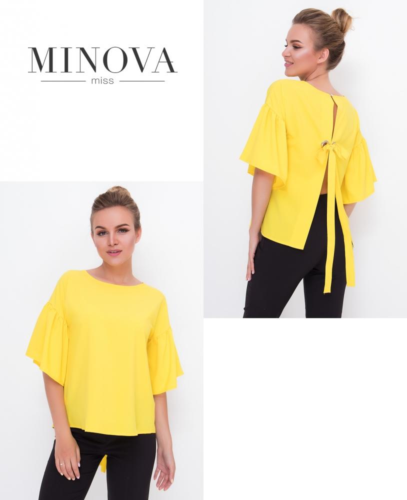 Блуза №446-желтый