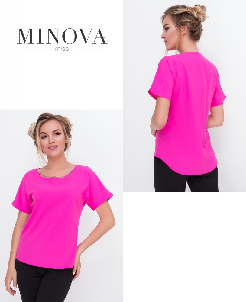 Блуза №438-розовый