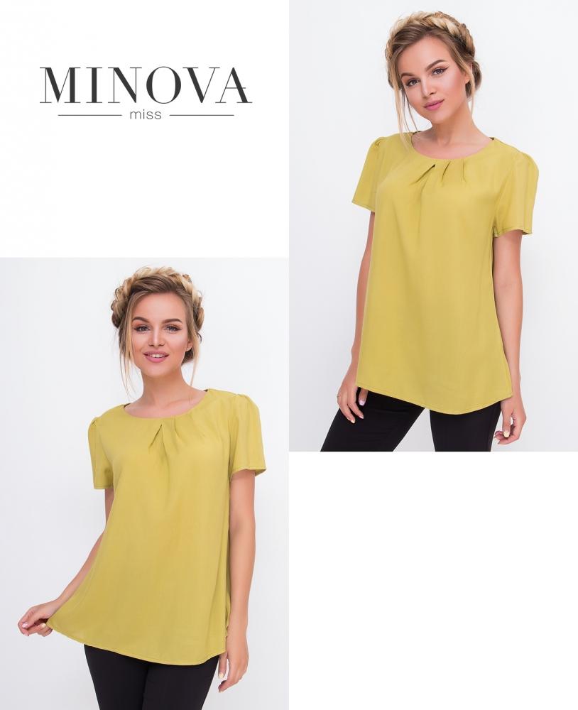 Блуза №3069.10Н-горчица