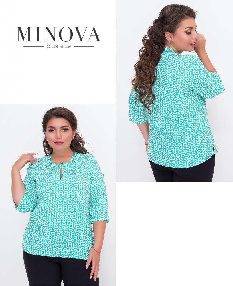 Блуза №442-мята