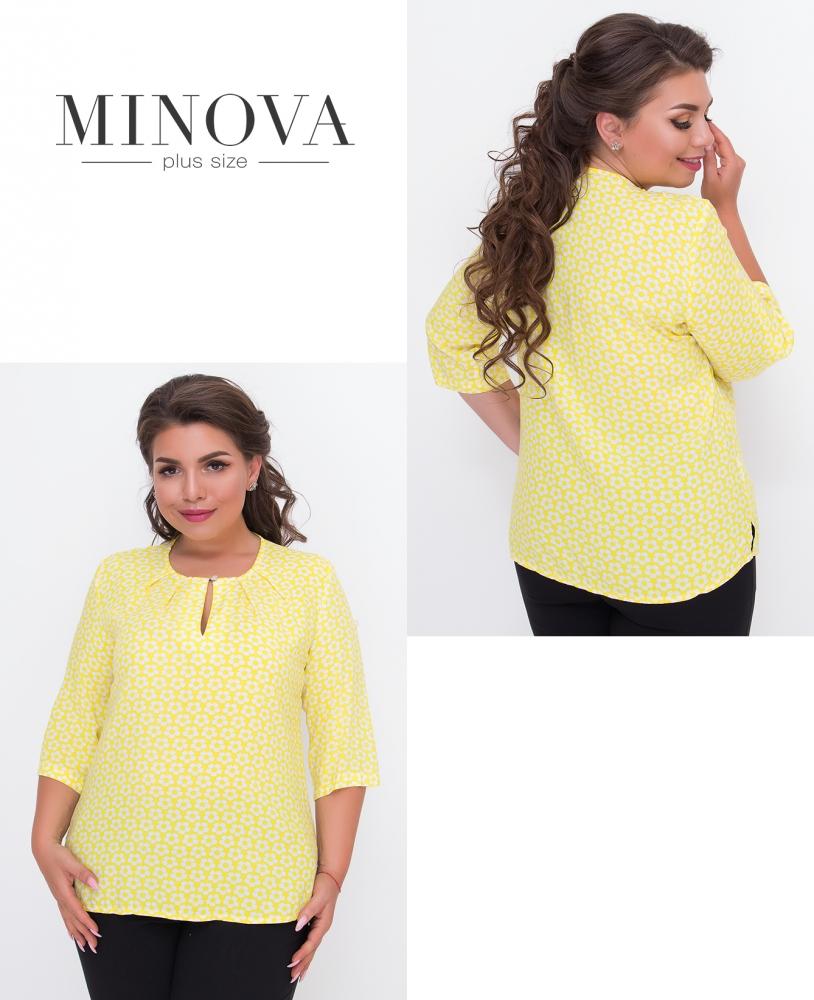 Блуза №442-желтый