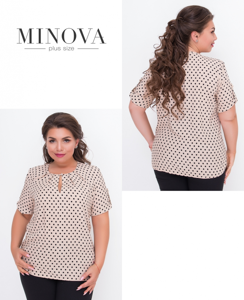 Блуза №441-беж