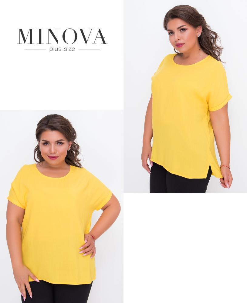 Блуза №440-желтый
