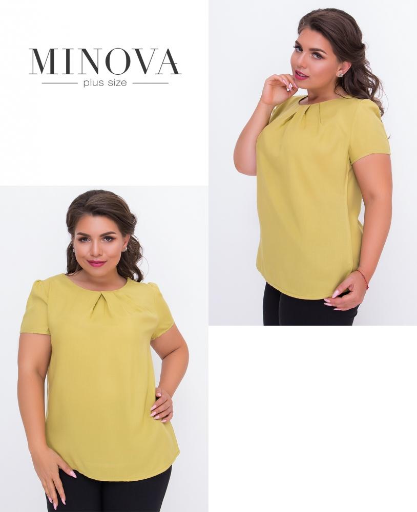 Блуза №3069.10-горчица