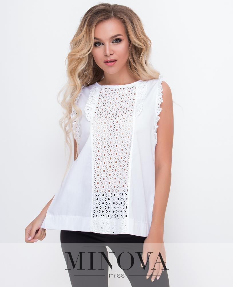 Блуза №3070.12-белый