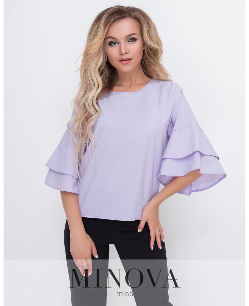 Блуза №1577-сирень