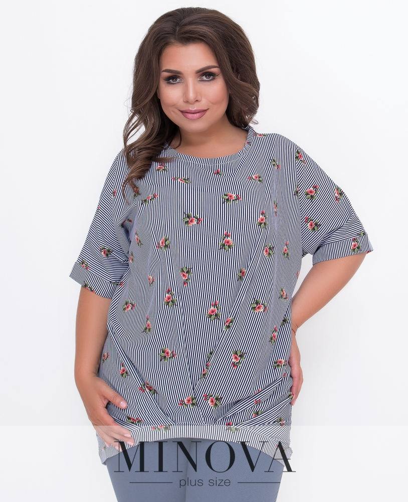 Блуза №353-полоска