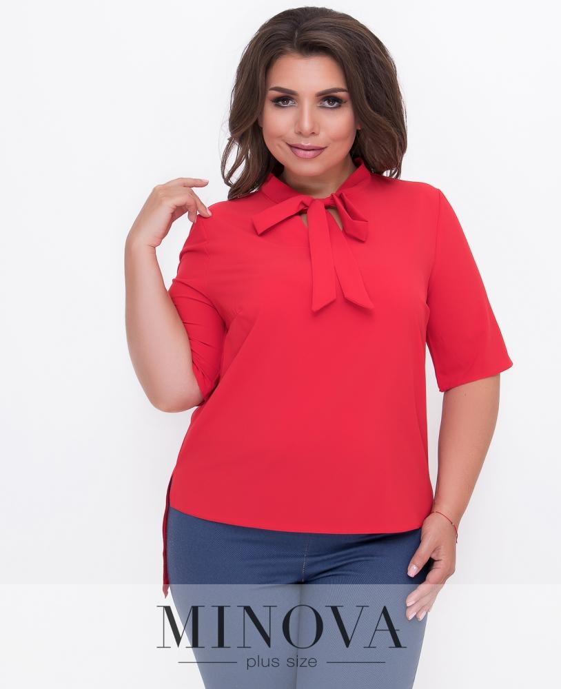Блуза №352-красный