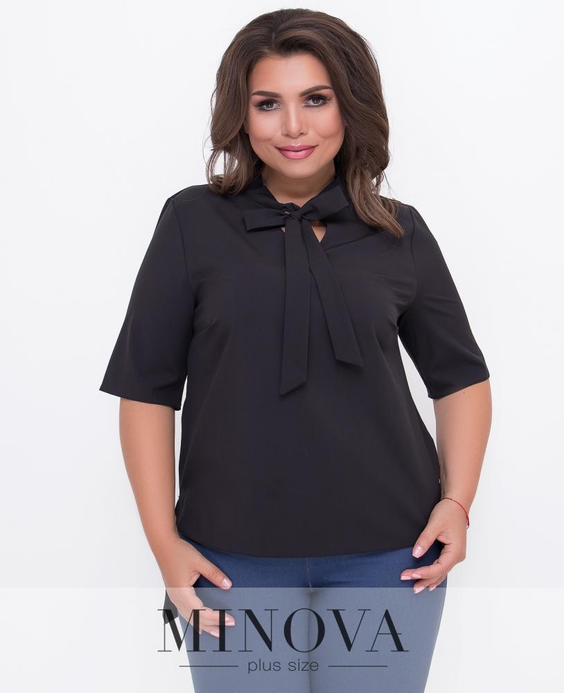 Блуза №352-черный