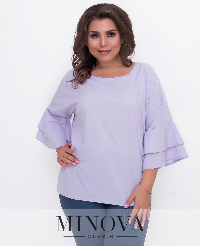 Блуза №1577Б-сирень