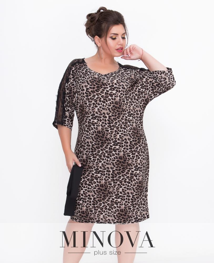 Платье №4122-лео