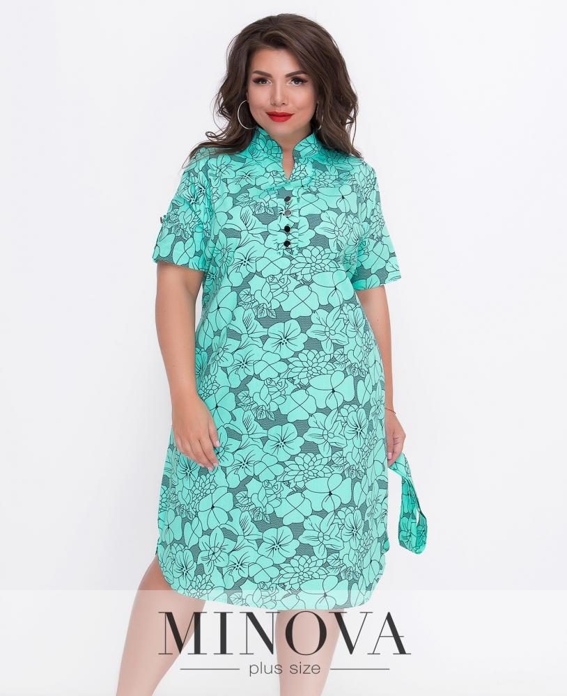 Платье №105-мята
