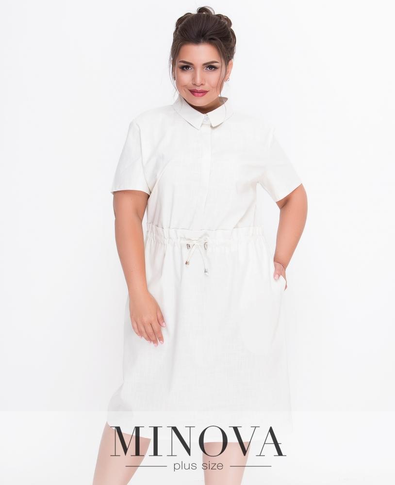 Платье №231-молочный