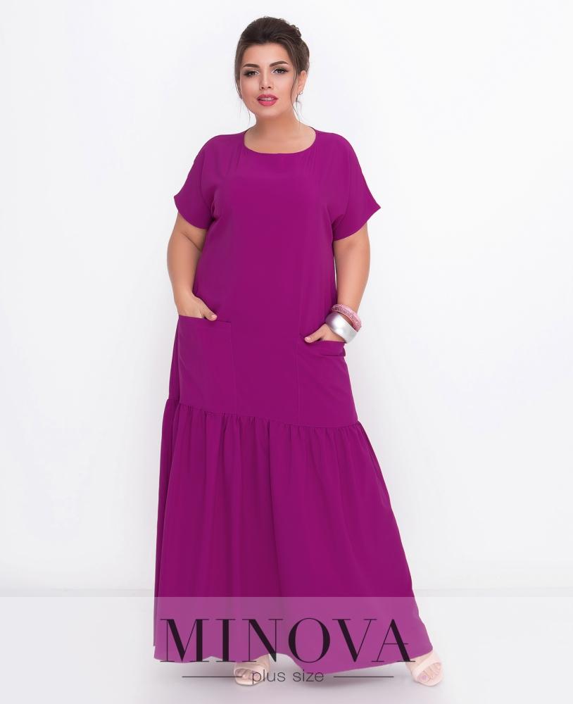 Платье №500-фуксия